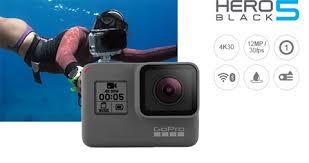 GoPro Hero 5 black. Cameras- Session, 3, 4 \u0026 | Go Argos