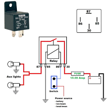 fxd wiring harness throughout 12v 30 amp relay diagram to