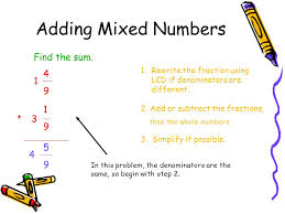 6.4 Adding and Subtracting Mixed Numbers - ppt video online download