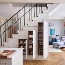 This pantry under the stairs features beadboard, open shelves, and plenty of organization. 17 Unique Under The Stairs Storage Design Ideas Extra Space Storage