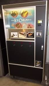 Ice Cream Vending Machines For Sale Awesome ROWE 48 ICE CREAM FROZEN FOOD Vending Machine For Sale LOCATION