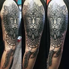 Dream Catcher Tattoo On Arm Custom 32 Dreamcatcher Tattoos For Men Divine Design Ideas
