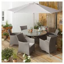 grey rattan garden dining sets. tesco san marino 8 piece rattan garden dining set, grey sets n