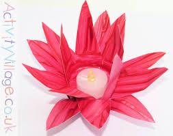 Paper Lotus Flower Lotus Flower Paper Cup Lantern
