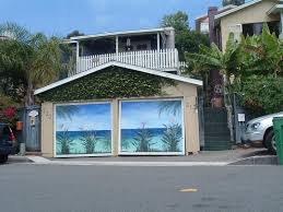 paint a mural on your garage door ideas and directions