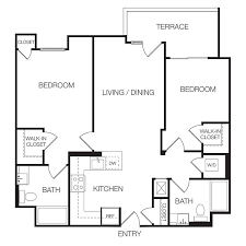 How Much Is Rent For A 2 Bedroom Apartment Model Plans Apartments For Rent  In Hollywood