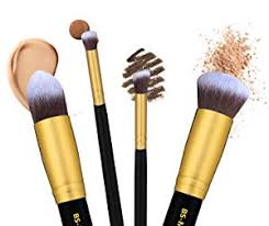 brush guide 1 angled brush perfect for blush and bronzer 2 tapered brush conceal around eyes and nose 3 flat brush foundation