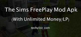 Download The Sims FreePlay Mod Apk V5.42.0 (Unlimited Money/LP)