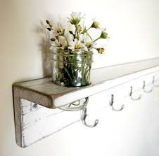 shabby chic furniture wall shelf decor white shelf by oldnewagain 78 00 by eclaire