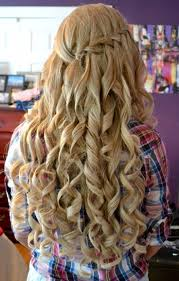 Curly Hair Style Up curls half up half down hairstyle curly hairstyles for prom half 3637 by wearticles.com