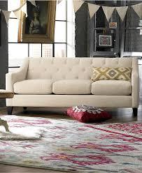 Discount Furniture Online Elegant Chloe Velvet Tufted sofa Living