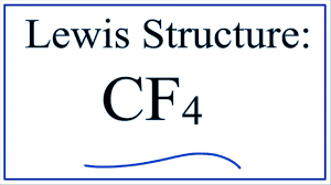 How To Draw The Lewis Structure For Cf4 Carbon Tetrafluoride