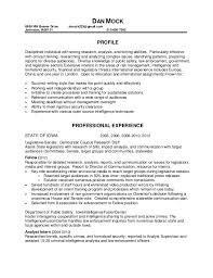 ... Incredible Mock Resume 8 Dan Mock Resume ...
