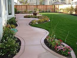 Simple Front Garden Ideas No Grass Small Back Design Beautiful I ...