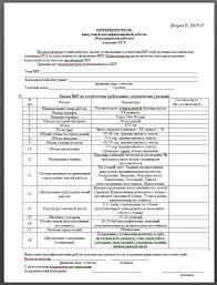 Бланки для дипломной СГА титульный задание на ВкР отзыв  Рисунок 4 Бланк Нормоконтроль