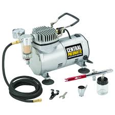 1 5 hp 58 psi oilless airbrush compressor kit