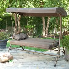3 person porch swing replacement canopies for lowe s swings garden