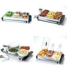 buffet server and warming tray 3 serving vessels keeps food warm uk buffet server and warming tray