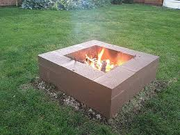 brick fire pit design new outdoor fireplace cinder block inspirational 15 outstanding cinder
