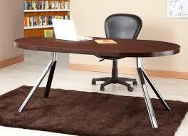 walnut office furniture. Walnut Office Furniture Contemporary Oval Top Desk American  Black