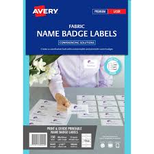 avery nametag avery 980040 l7427 fabric name badge labels 10up 88 x 52mm