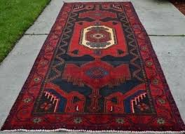 4 x 10 rug runner tribal antique oriental hand knotted 1