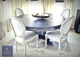 round table 60 inches kitchen table