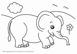 Elephant Printable Coloring Pages Superb Elephant Coloring Pages For