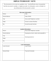 Promissory Note Word Template Note Payable Template Askwhatif Co