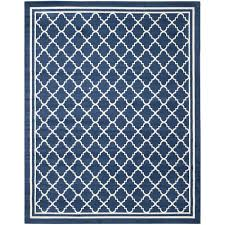 safavieh amherst navy beige 9 ft x 12 ft indoor outdoor area