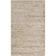 grey woven rug hand natural pale jute farmhouse x 5 uk