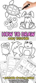 drawing step by step for beginners. Simple Step How To Draw  Step By Drawing For Kids And Beginners Howtodraw Throughout By E