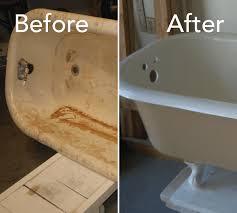 repair bathtub or bathroom sink today