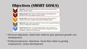 What Are Your Personal And Career Goals Career Development Goals And Objectives Asafon Ggec Co