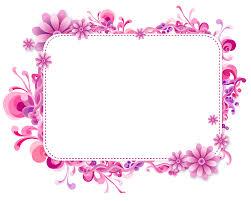 frame design vector. Wonderful Design Pink Floral Vector Frame Png For Design