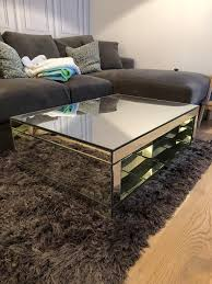 mirrored coffee table from next home
