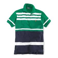 ralph lauren polo green navy breathable cotton short sleeved in men s