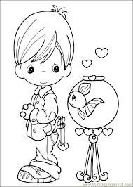 Small Picture Precious Moments 41 Coloring Page Free Precious moments Coloring
