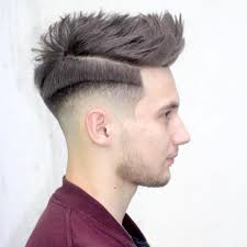 Spiky Hair Style 2016 spiky fade haircut latest men haircuts 5917 by wearticles.com