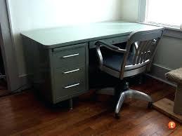 old office desk. Industrial Metal Desk Old For Sale  Steel Office Old Office Desk