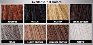 Toppik Color Chart Bosley Hair Thickening Fibre Dark Brown