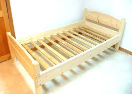 bed slats full diy replacement wooden for frame metal king size of queen replace