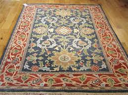 william morris rug hand woven for liberty in x patterns