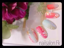 Nailsalonfk On Twitter 浴衣にネイルもオシャレに ネイルアート