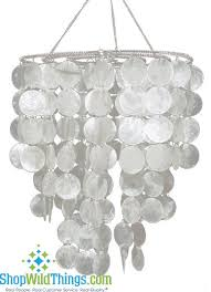 coming soon real white capiz shell chandelier sandals resorts