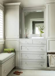 closet with built in dresser