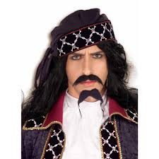 pirate mustache and beard