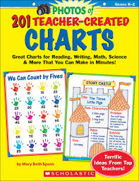 201 Teacher Created Charts Easy To Make Classroom Tested Charts That Teach Reading Writing Math Science More