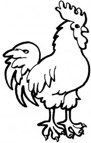 Small Picture Free Farm Animal Coloring Pages Rooster Animal Coloring pages of