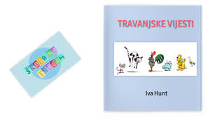HRT 3 (Z.K.) Travanjske vijesti, Iva Hunt by Zvjezdana Kurtalj on Genially